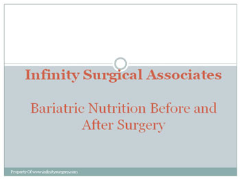 Bariatric Nutrition